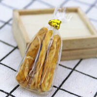 6Pcs/bag 1:12 Dollhouse Miniature Food Bread Doll House Kitchen AccessoriÁÍ