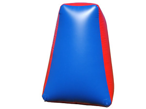 1 Inflatable Air Bunker Pyramid for Paintball Airsoft Nerf Archery Laser Tag