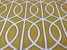 Yellow Robert Allen Dwell Studio Drapery Upholstery Fabric 15 Yds