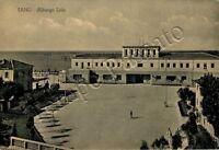 Cartolina di Fano, albergo e mare - Pesaro Urbino