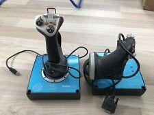 Saitek X45 Joystick + Throttle für Flugsimulator Flight Simulator