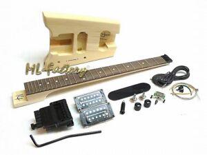 E-Gitarren-Bausatz/Guitar Kit ML-Factory® Headless G3T-Style