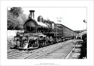 "Victorian Railways Dd Class Locomotive A3 Print – Poster 42 x 29 cm 16"" x 12"""