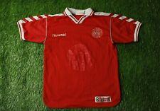 DENMARK NATIONAL TEAM 1998/2000 RARE FOOTBALL SHIRT JERSEY HOME HUMMEL ORIGINAL