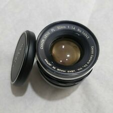 Canon FL 50mm F/1.4 Lens - Very Clean Example -