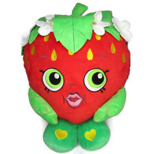 "Shopkins Strawberry Giant Plush 14"" Big Stuffed Pillow Cuddle"