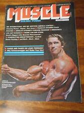 MUSCLE BUILDER bodybuilding magazine ARNOLD SCHWARZENEGGER 1-75