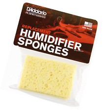 D'Addario Acoustic Guitar Humidifier Replacement Sponges, 3 Pack
