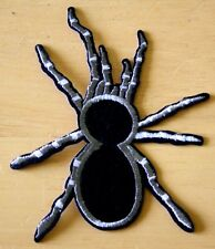 Tarantula Spider Embroidered Iron Sew On Patch Badge Biker Heavy Metal Goth Punk