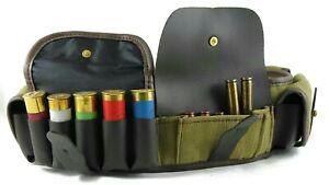 Shotgun/Rifle Cartridges Belt Ammo Carry Shell Holder 12/16 GA Handmade Quality