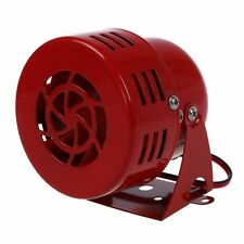 12V AUTOMOTIVE AIR RAID SIREN HORN CAR TRUCK VTG MOTOR DRIVEN FIRE Z7J2