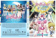 DVD Sailor Moon Crystal Season 2 Eps 1-13END .. English Subtitle All Region
