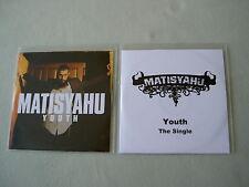 MATISYAHU job lot of 2 promo CDs Youth