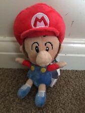 Super Mario Plush Teddy - Baby Mario Soft Toy - Size:15cm - NEW