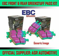 EBC GREENSTUFF FRONT + REAR PADS KIT FOR BMW 320 2.2 (E46) CABRIOLET 2000-07