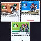 REP. IT.1967 GIRO D'ITALIA BORDO FOGLIO (C) SERIE COMPLETA 3 VAL.