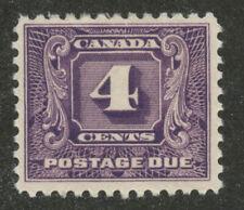 Canada 1930 Second Postage Due issue 4c dark vioilet #J8 VF MNH