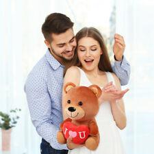 "Valentine's Day Teddy Bear Gift With I Love You Heart 11"" Plush Boy Girlfriend"