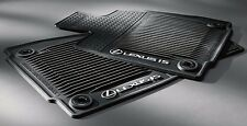 Lexus IS250 IS350 IS200T 2WD 2014-2016 OEM Genuine ALL WEATHER FLOOR MATS