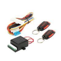 Keyless Entry Alarm System Controller Universal Automobiles Remote Central Door