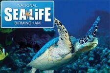 National SEA LIFE Centre Birmingham 2 x Tickets Friday 7 February 2020 07-2-2020