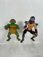 Original Shredder & Raphael 1988 Figure Bundle TMNT Teenage Mutant Ninja Turtles