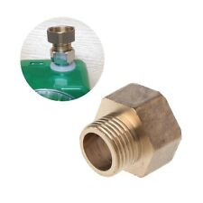 """3/4"""" Female to 1/2"""" Male Brass Pipe Fitting Hose Straight Connector Garden"""