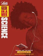 Letts GCSE en una semana - Science ________ NUEVO ____ ENVÍO GRATIS Reino Unido