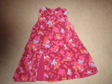 Babymini par CATIMINI velours robe ou pinifore-Rose-Papillons - 12 - 18 mois