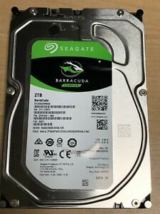 Seagate BarraCuda ST2000DM008 2TB 3.5 7200 RPM 256MB SATA 6.0Gb Hard Drive  HDD