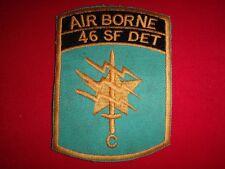 "Vietnam War Patch US 1st SFGrp 46th Special Forces Co Detachment ""C"" In Thailand"