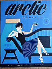 Arctic Monkeys  Mini Concert Poster Reprint Melbourne Gig 14x10 Unsigned