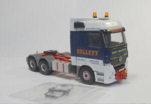 """- """"Collett"""" -  Mercedes  - Code 3 - Truck - Lorry - 1:50"""