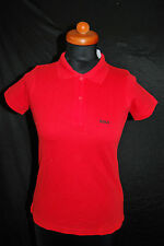 """B&C for Women NEU Gr S Polo Shirt Golf """"GOLF"""" Snake Print Top ROT 59,- D-1970"""