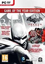 Batman Arkham City Game of the Year GOTY - PC - Brand New & Sealed