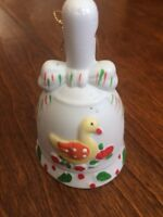 vtg Jc Penny 12 Days Of Christmas Ornament Bell day 6 Six Geese A-laying