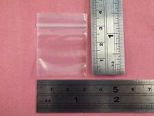 Tiny Polythene Bag Zip Seal Box of 1000 Pcs Size 30 x 30mm