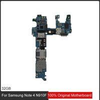 Original Motherboard Samsung Galaxy Note 4 N910F 32gb carte mère Mainboard Board