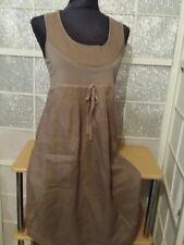 JULIE GUERLANDE  SUPERBE  Robe  100% LIN     taille 36/38 ** excellent etat