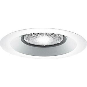 Case fo 16 Progress Lighting P8072-28 Recessed - Trim Open Splay Trim, White