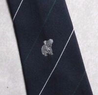 Vintage Tie MENS Necktie Crested Club Association Society KOALA BEAR