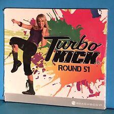 Turbo Kick Round 51 ~ Double Dvd/Cd Plus Choreography Notes ~ Powder Blue ~ New!