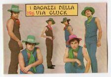 figurina CANTANTI PANINI 1968 REC numero 196 I RAGAZZI DELLA VIA GLUK