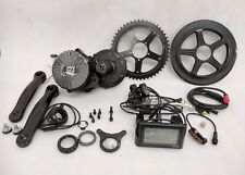 Pedalease 48V 750W Pedalease Mid drive electric bike kit 100mm BB 30mph