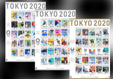 Pre-Order 2021 JAPAN Tokyo 2020 Olympics & Paralympic 3 stamp sheets set