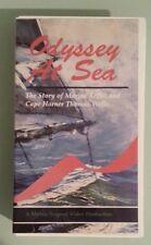 ODYSSEY AT SEA story of marine artist cape horner thomas wells   VHS VIDEOTAPE