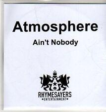 (CU251) Atmosphere, Ain't Nobody - 2011 DJ CD