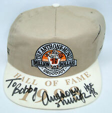 Anthony Munoz Charity Outing Autographed Baseball Cap - HOF Offensive Lineman