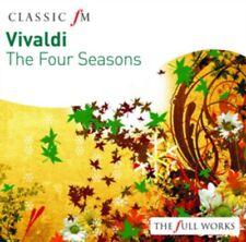 THE ENGLISH CONCERT TREVOR PINNOCK - Vivaldi: Four Seasons NUOVO CD