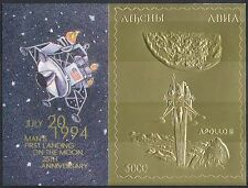 Abkhazia 1994 Apollo 11/Moon Landing 25th Anniversary/Space/GOLD 1v m/s (b9907)